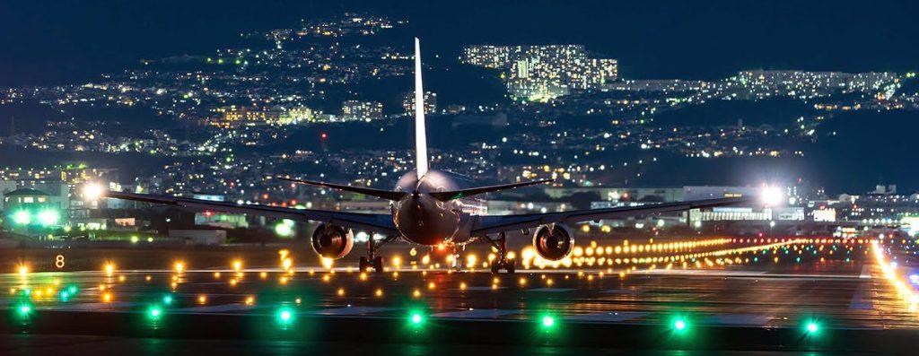City-guides_Osaka-airports_Japan_Itami-Airport_night-view