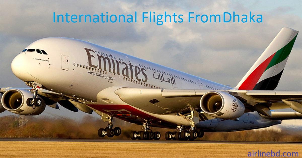 International Flight from Dhaka